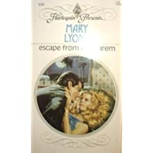 Escape from the Harem (Harlequin Presents) by Mary Lyons (1986-12-05)