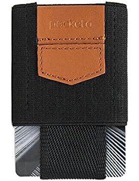 POCKETO PULL-OUT ELASTIC CARD HOLDER,una funda elástica de tarjetas para hombres y mujeres,cartera minimalista...