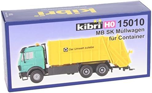 Kibri 15010 – MB SK Chariot poubelle container H0   La Mise à Jour De Style