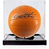 Sir Geoff Hurst Firmado Fútbol En caso de exhibición