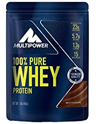 Multipower - 100 % Pure Whey 450 g Rich Chacolade 2er Pack (2 x 450 g)= 900 g