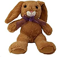 Happy Spring Tawny Brown Snuggle Bunny by Spirit Marketing LLC
