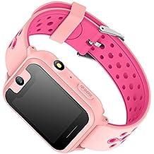 Reloj Inteligente Deportivo 1.54 Pantalla Táctil Podómetro Fitness Tracker Pulsómetro Monitor De Sueño Cámara Bluetooth GPS