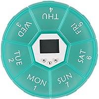 Demiawaking Elektronische Pillenbox 7 Fächern Intelligent erinnern Medizin Aufbewahrungsbox Tablettenboxen Container... preisvergleich bei billige-tabletten.eu