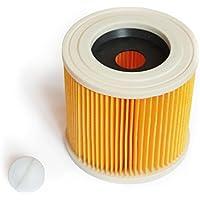 MI:KA:FI Filtro de cartucho   para Kärcher Aspiradora en seco y húmedo   WD2 + WD3 + WD2.200 + WD3.200 + WD3.300 M + WD3.500 P + SE 4001 + SE 4002   como 6.414-552.0