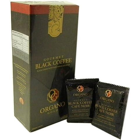 2scatola di Organo Gold Ganoderma Gourmet–Caffè Nero