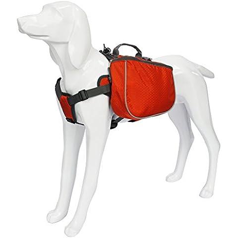 My Pet All'Aperto Pet Zaini Impermeabili Confezione Cane Di Viaggio In Campeggio Escursionismo Borse Arancione Medium