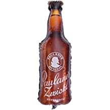 YeahiBaby 72cm Botella de Cerveza Globo de Helio de Aluminio - Decoraciones de Fiesta de Cerveza