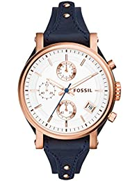 Fossil Original Boyfriend Analog Silver Dial Women's Watch - ES3838