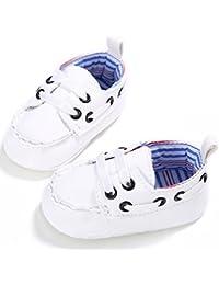 Vovotrade Primer paso Zapatos de bebé Niña Niño recién nacido De lujo Cuero Suela suave de cuna Zapato Zapatillas