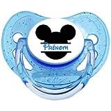 Tétine sucette bébé personnalisée Mickey tête CDM0189