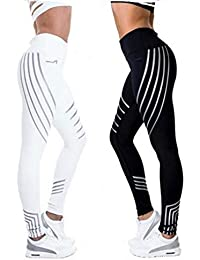 fbcdf23710 Women Sports Pants Sexy Skinny Patchwork Gym Workout Training Yoga Leggings  Running Trousers