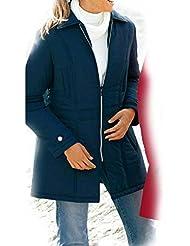 adonia mode Warmer Steppmantel Longjacke Winterjacke , Gr. 44