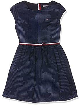 Tommy Hilfiger Devore Dress S/S, Vestito Bambina