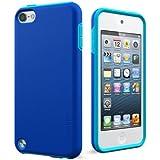Cygnett PlayUp Coque bi-matière et bicolore pour iPod Touch 5 (Bleu)
