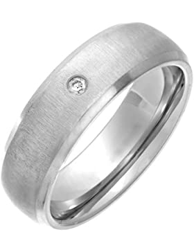 Theia Unisex-Ring Titan Court Diamant 0.02ct