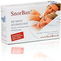 Preisvergleich für Snorban® einteilige Anti-Schnarchschiene für einen erholsamen Schlaf im FlexPoint Set mit Schlaftipp-ABC
