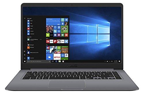Asus X510UF 90NB0IK2-M07090 39,6 cm (15,6 Zoll Full HD Matt) Notebook (Intel Core i5-8250U, 16GB RAM, 256GB SSD, 1TB HDD, NVIDIA MX130 2GB, Win 10) grau