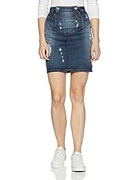 GUESS Women's A-Line Skirt