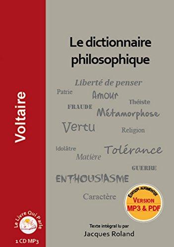 Le Dictionnaire Philosophique 1cd P3