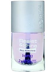 L'Oréal Paris Resist & Shine Pro-Kératine Nagellack, Nagelpflege gegen Nagelspliss und Nagelbruch, 9 ml