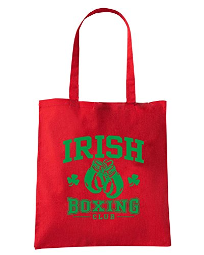 T-Shirtshock - Borsa Shopping TBOXE0106 irish boxing Rosso