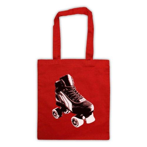 My Icon Art & Clothing , Borsa da spiaggia  Uomo-Donna Rosso
