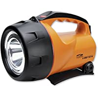 LiteXpress LXL60000R9 LXSP101 Projecteur manuel à batterie 1 LED jusqu'à 350 lumens Rechargeable Orange/noir