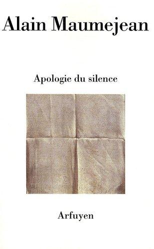 Apologie du silence