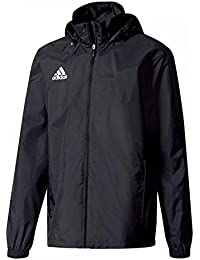 adidas Core 15 Regenjacke Herren schwarz / weiß, L - 54