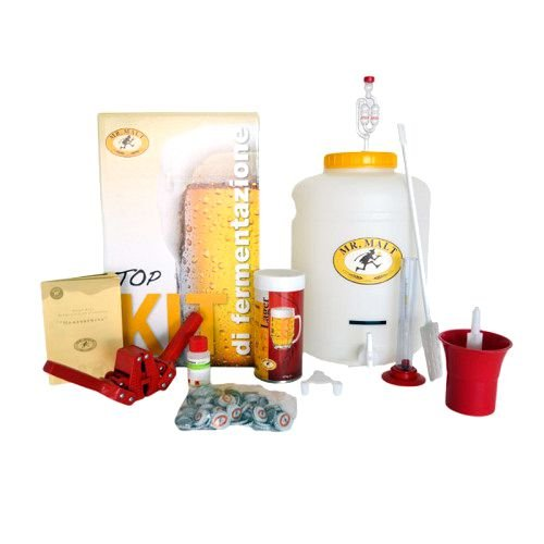 KIT BIRRA LUSSO 'Mr.MALT' per fare la birra in casa!