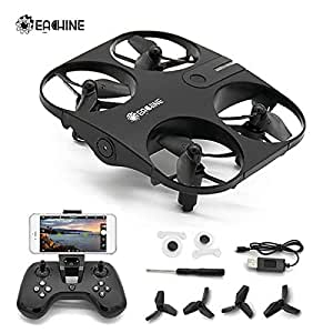 EACHINE Drone With Camera, E014 Windmill Optical Flow WIFI FPV Quadcopter With 720P HD Camera Hand Tracking Altitude Hold Phone Control Gravity Mode RC Helicopter