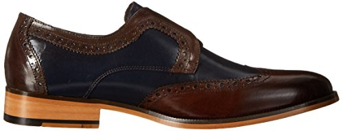 Stacy Adams Stratford Hommes Cuir Oxford Navy Multi