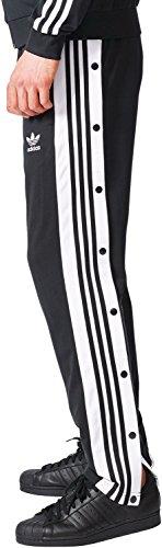 adidas Herren Adibreak Hose schwarz / weiß