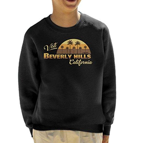 Coto7 Visit Beverly Hills California Kid's Sweatshirt