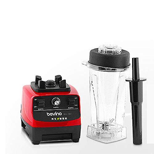 Blender smoothie maker 1500W Juice Blender, mezclador de cocina, procesador de alimentos, máquina de cocinar casera, máquina para romper paredes, exprimidor, 6 cuchillas afiladas, control de velocidad