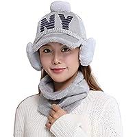 China Show Creativas de Invierno Sombrero con de oído de Cobertura de Warmer emporgeragter Tapas de Tipo de y Forma de béisbol Sombrero Gris