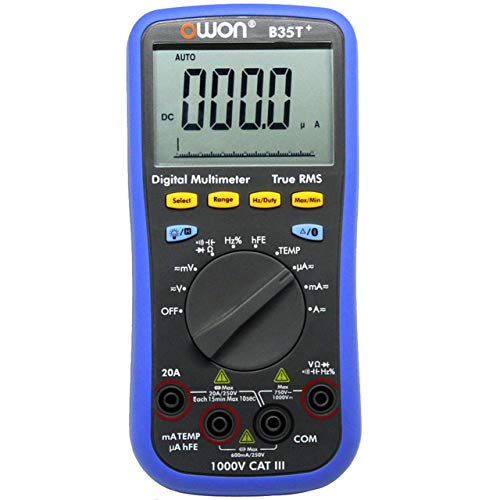 OWON B35T+ Multimeter 3 IN 1 LED Digital Bluetooth Multimeter True-RMS Voltmeter Ammeter Ohmmeter Supported Mobile App Control