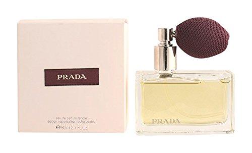 Prada Femme / woman, Eau de Parfum, Vaporisateur / Spray 80 ml Deluxe inkl. Pumpzerstäuber, 1er Pack (1 x 80 ml)