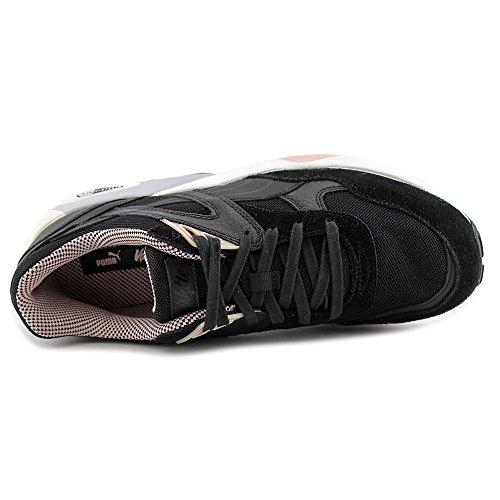 Puma R698 X Vashtie Daim Baskets Black