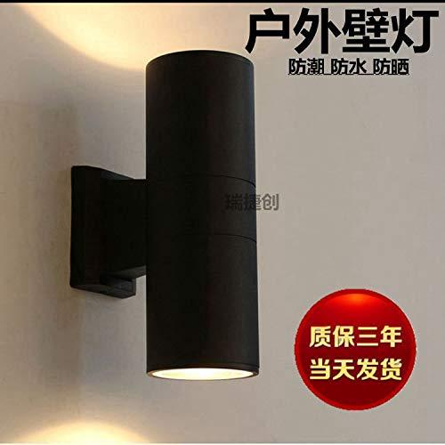 Lámpara de pared al aire libre Lámpara de pared creativa moderna al aire libre de la lámpara de pared del LED, luz blanca caliente, todo 3W arriba y abajo