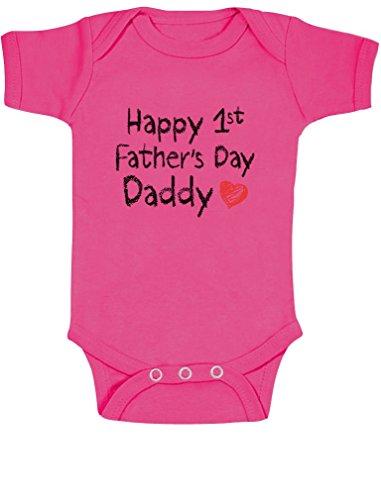 Happy 1st Father 's Day Daddy regalo del día de padre para la nueva D
