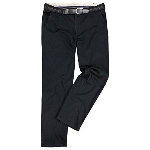 Over-Size Übergrößen Hose mit Dehnbund Farbe Schwarz in den Größen 61-75 -
