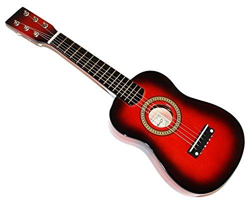 Cher rystone 07542355065841/166cuerdas guitarra madera juguete infantil 58,4cm (23pulgadas) rotburst