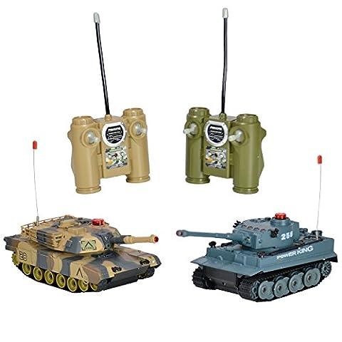 Ultimate Radio Control Toys Tank M1A2 radiocommandé à contrôle infrarouge Échelle 1:24