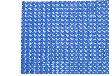 Alfombra redondos plato ducha 52 x 52 cm. (Azul)