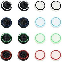 16 PC Múltiples Color Controlador Pulgar Stick Cubre Protector de Silicona para PS4 PS3 XBOX ONE