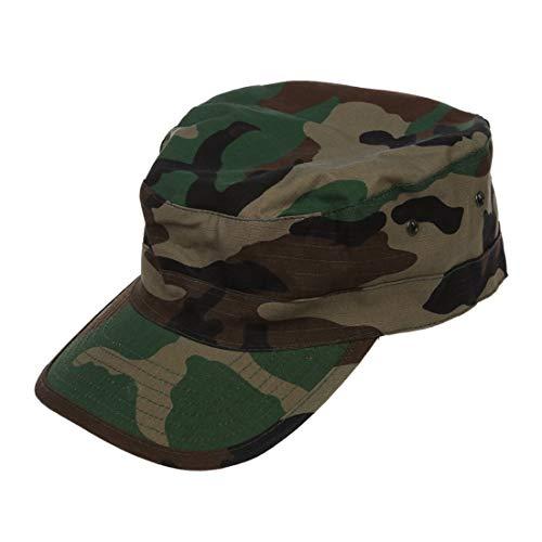 Imagen de sodial r ejercito militar urbano visera cap mens senora sombrero camo camuflaje selva beisbol  woodland camo