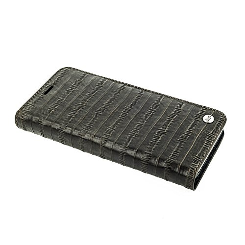 """QIOTTI >              APPLE iPHONE 6 PLUS / 6S PLUS / 7 PLUS (5,5"""")              < incl. PANZERGLAS H9 HD+, RFID Schutz, 2-in-1 Booklet mit herausnehmbare Schutzhülle, magnetisch, 360 Grad Aufstellmöglichkeit, Wallet Case Hüll KAFFEE BRAUN"""