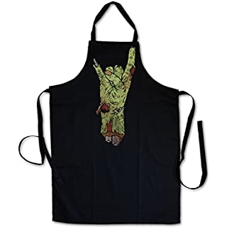Urban Backwoods ZOMBIE METAL FIST Barbecue BBQ Kitchen Cooking Apron
